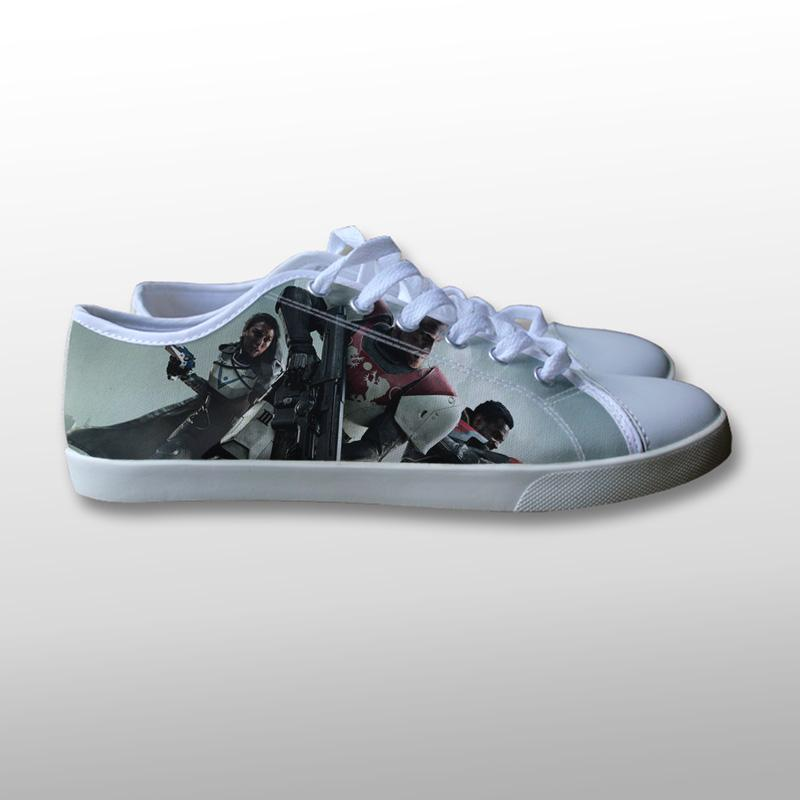 Destiny 2 Cover Canvas Shoes
