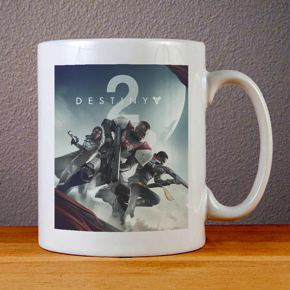 Destiny 2 Cover Ceramic Coffee Mugs