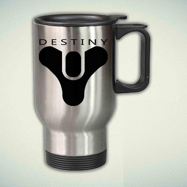 Destiny Logo  14oz Stainless Steel Travel Mug