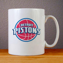 Detroit Pistons Logo Ceramic Coffee Mugs