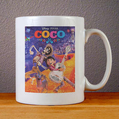 Disney Coco Movie Ceramic Coffee Mugs
