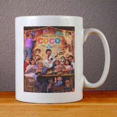 Disney Pixar Coco Poster Ceramic Coffee Mugs