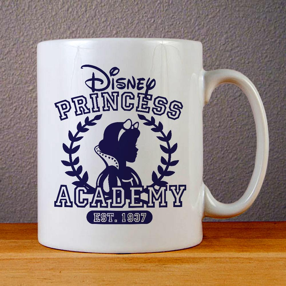 Disney Princess Academy Ceramic Coffee Mugs