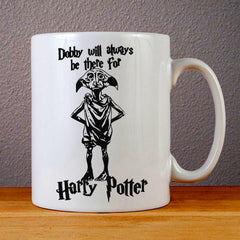 Dobby Will Always be There for Harry Potter Ceramic Coffee Mugs