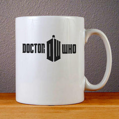 Doctor Who Logo Ceramic Coffee Mugs
