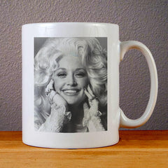 Dolly Parton Smile Ceramic Coffee Mugs