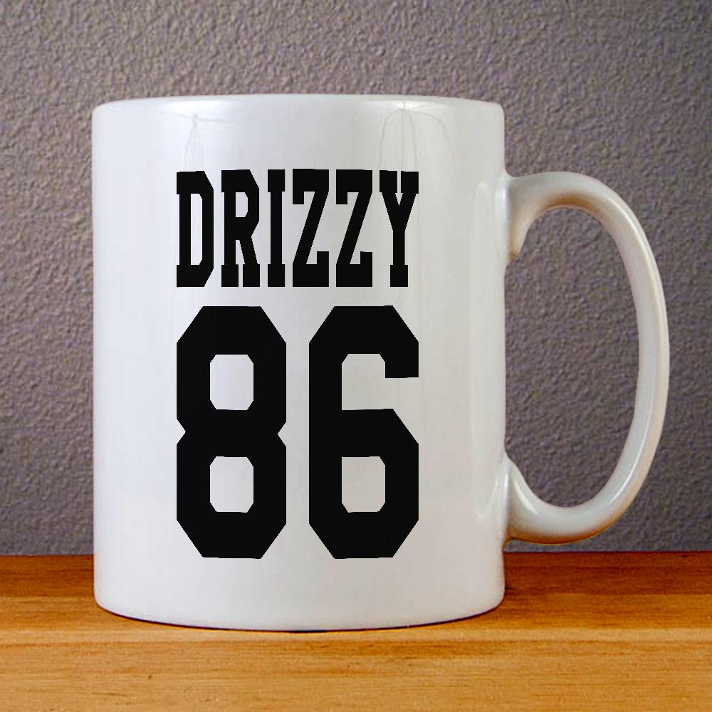 Drizzy 86 Ceramic Coffee Mugs