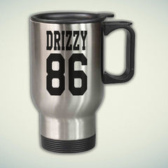 Drizzy 86 14oz Stainless Steel Travel Mug