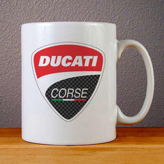 Ducati Logo Ceramic Coffee Mugs