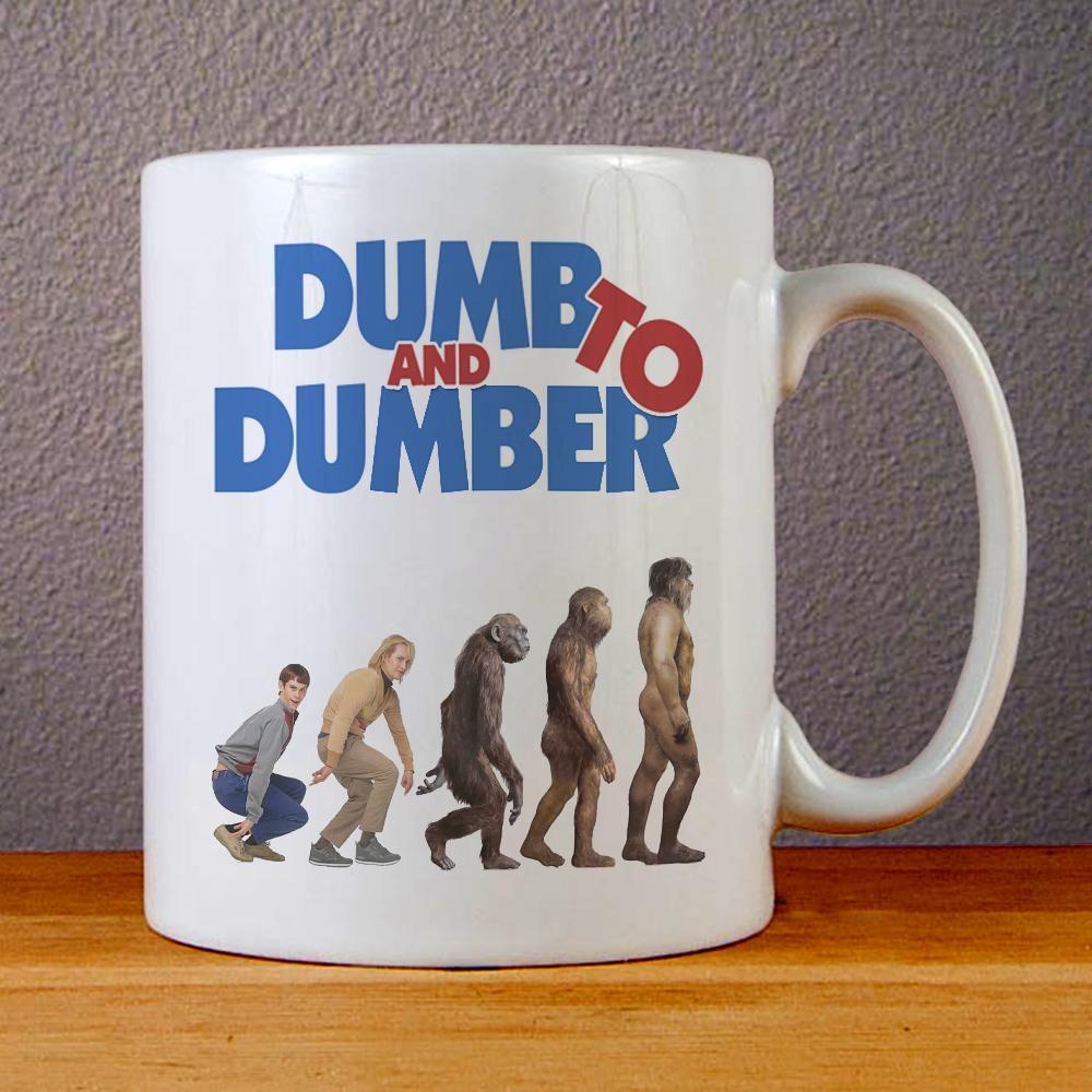 Dumb and Dumber To Ceramic Coffee Mugs
