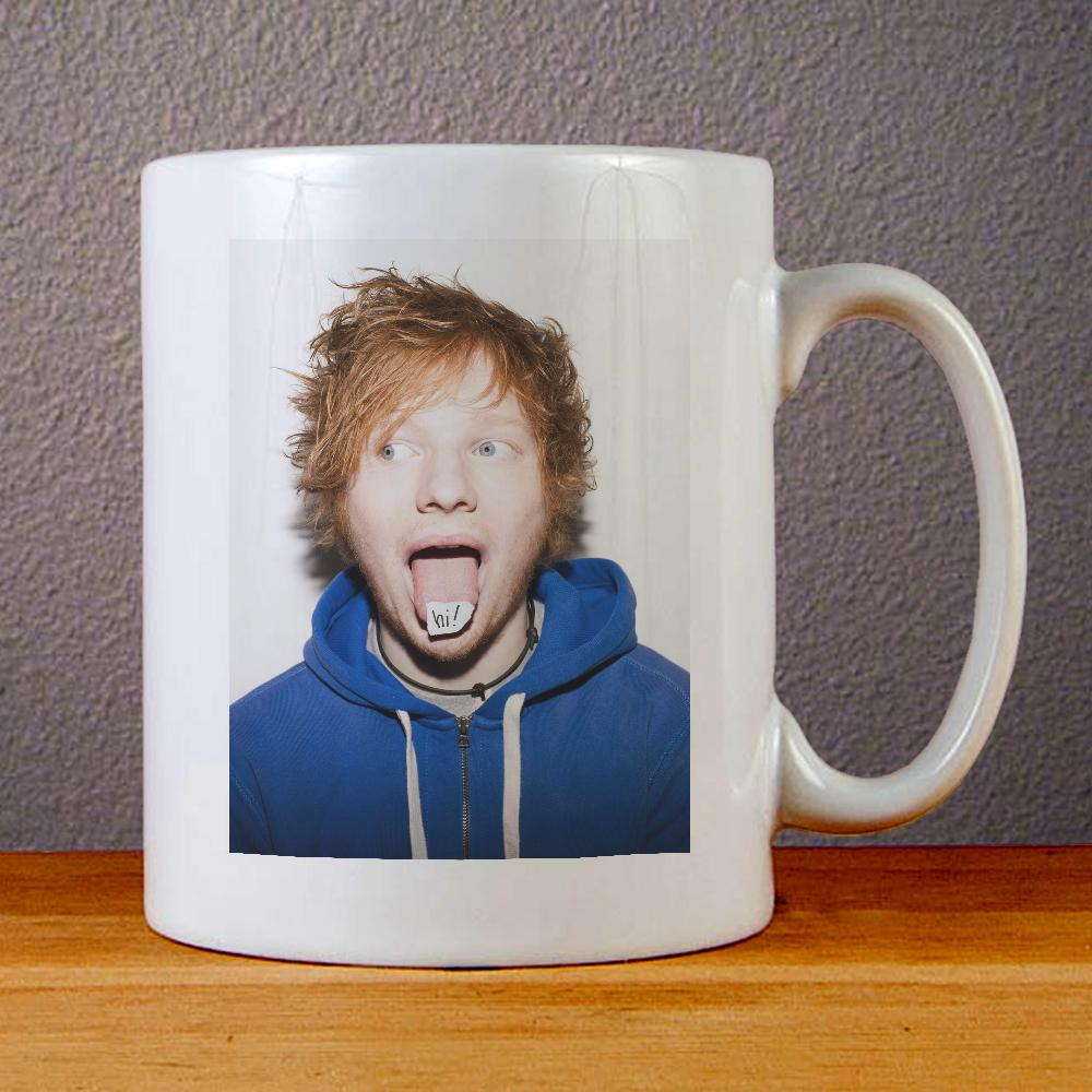 Ed Sheeran Ceramic Coffee Mugs
