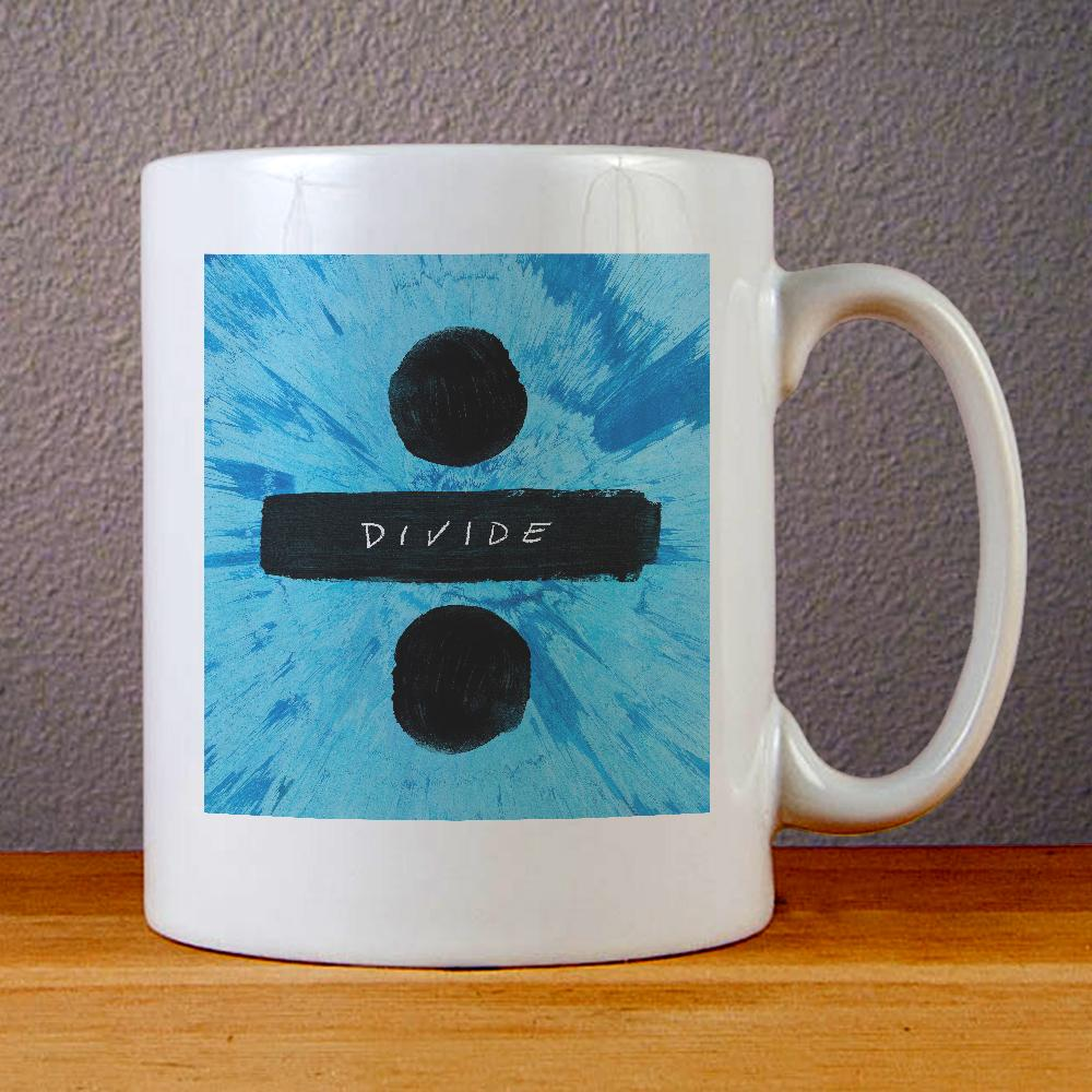 Ed Sheeran Divide Ceramic Coffee Mugs