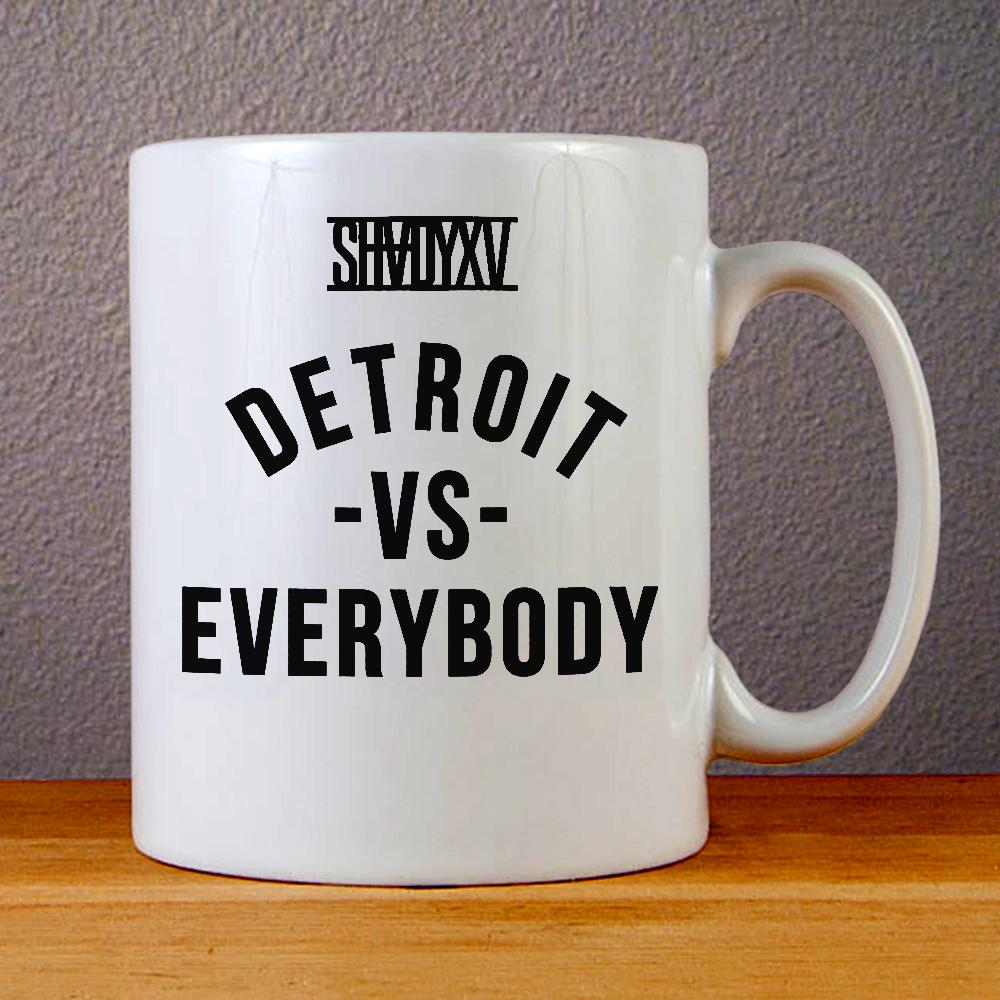 Eminem Shady, Detroit Vs Everybody Ceramic Coffee Mugs