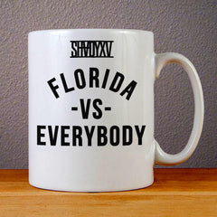 Eminem Shady, Florida vs Everybody Ceramic Coffee Mugs
