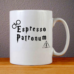 Espresso Patronum Ceramic Coffee Mugs