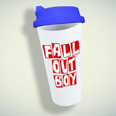 Fall Out Boy Logo #2 Double Wall Plastic Mug