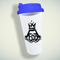 Fall Out Boy Logo  Double Wall Plastic Mug