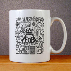 Fall Out Boy Quotes Ceramic Coffee Mugs