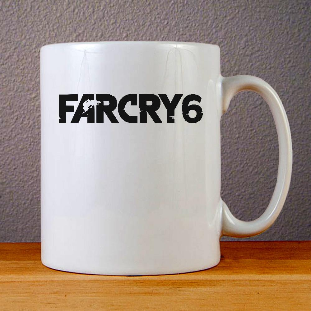 Far Cry 6 Logo Ceramic Coffee Mugs