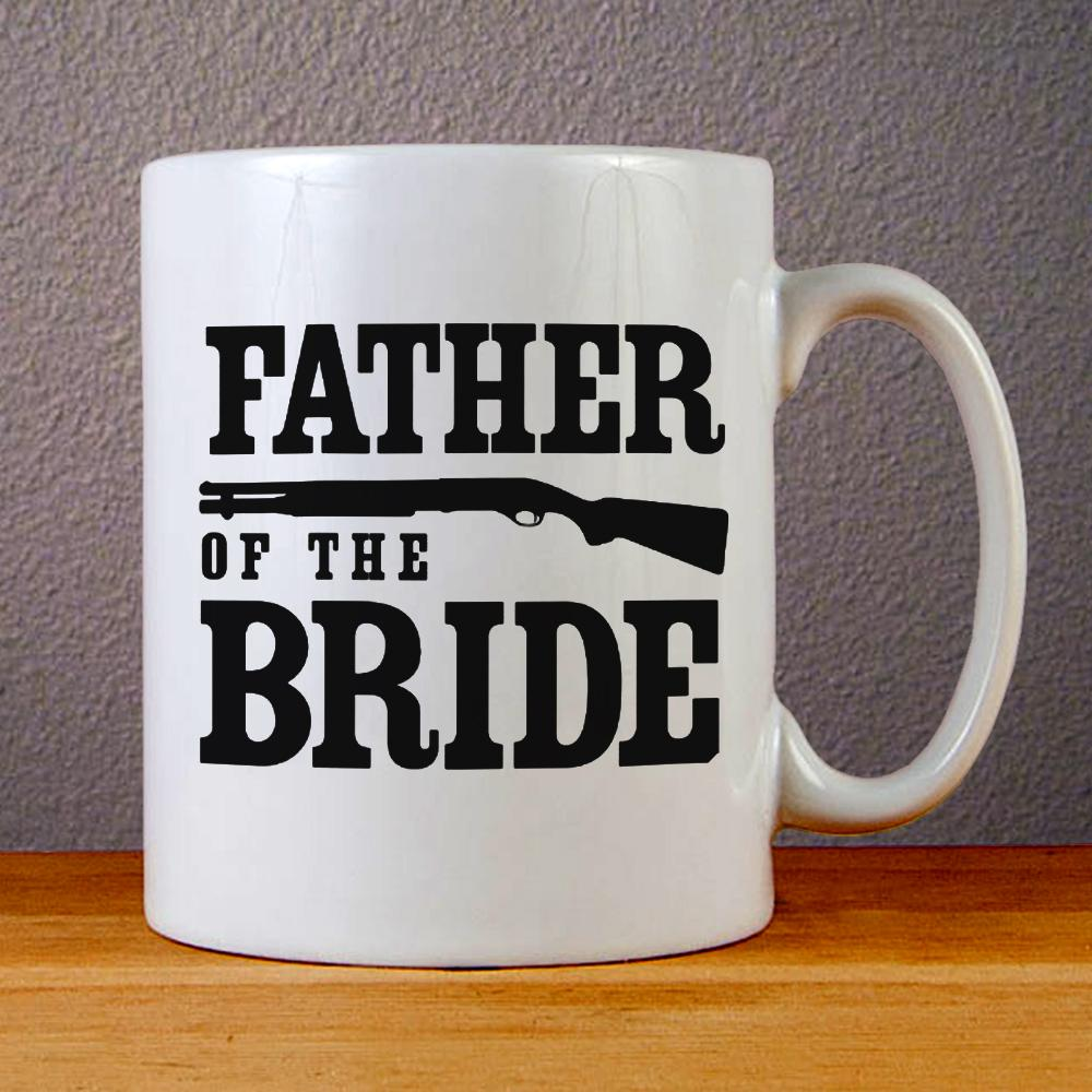 Father Of The Bride Ceramic Coffee Mugs