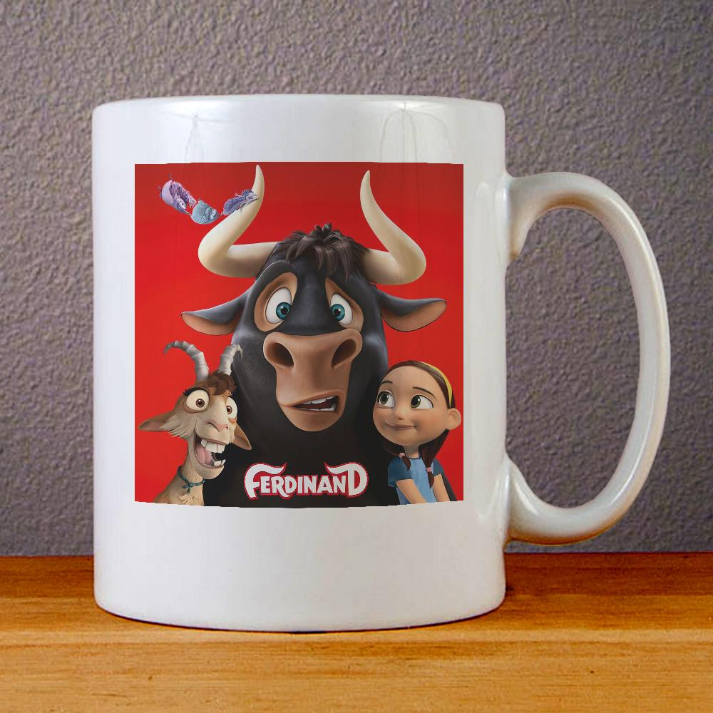 Ferdinand The Bull Ceramic Coffee Mugs