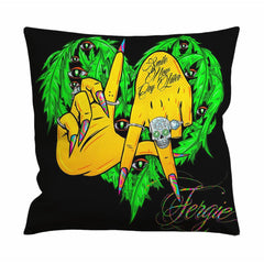 Fergie L A Love Cushion Case / Pillow Case
