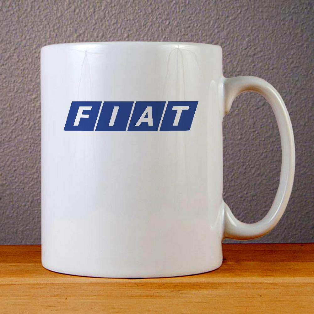 Fiat Emblem Logo Ceramic Coffee Mugs