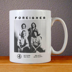 Foreigner Poster Ceramic Coffee Mugs