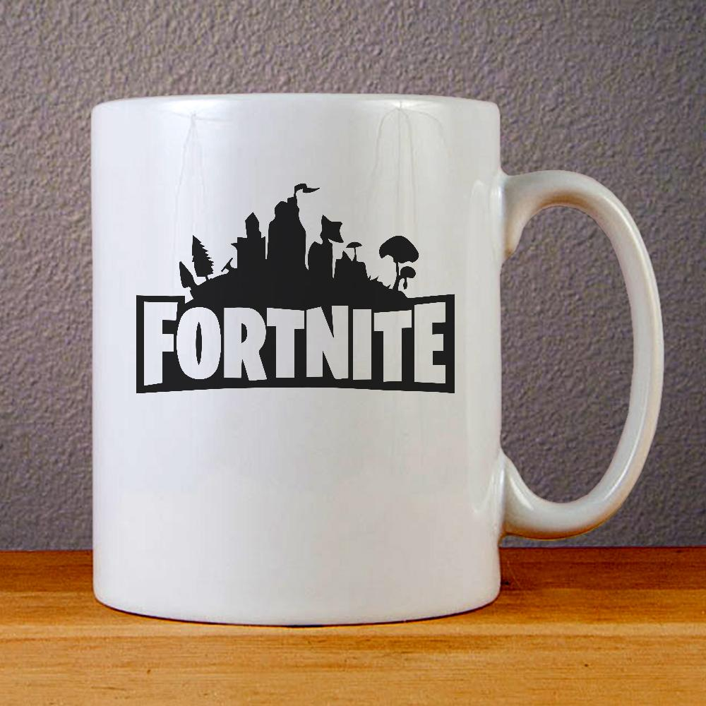 Fortnite Logo Ceramic Coffee Mugs
