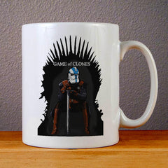 Game of Clones Ceramic Coffee Mugs