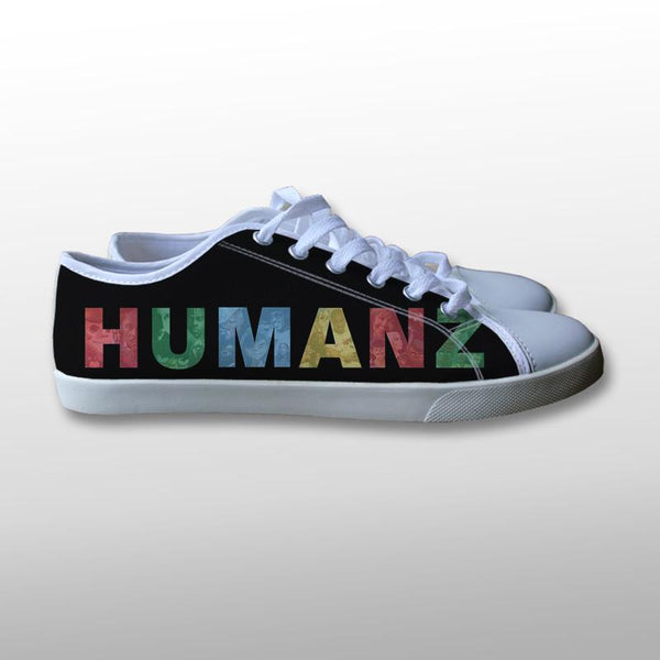 Gorillaz Humanz Logo Canvas Shoes