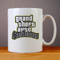 Grand Theft Auto San Andreas Ceramic Coffee Mugs