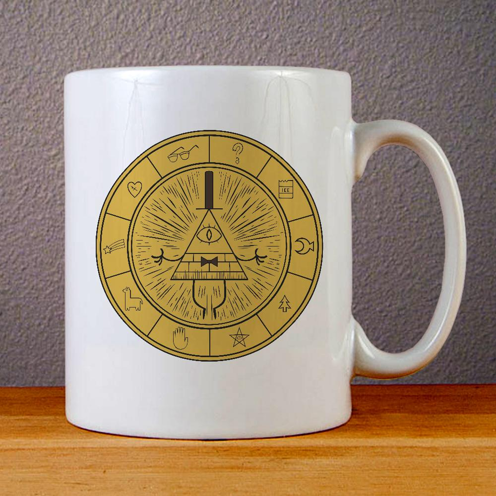 Gravity Falls Map Ceramic Coffee Mugs