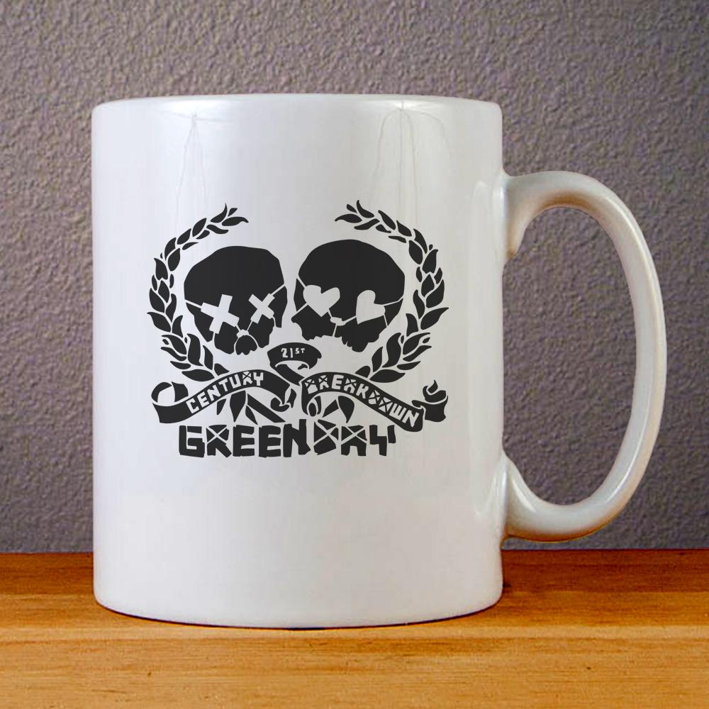 Green Day 21st Century Breakdown Logo Ceramic Coffee Mugs