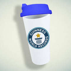 Guinness World Records Logo Double Wall Plastic Mug