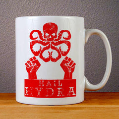 Hail Hydra Ceramic Coffee Mugs
