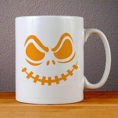 Halloween Pumpkin Face Ceramic Coffee Mugs
