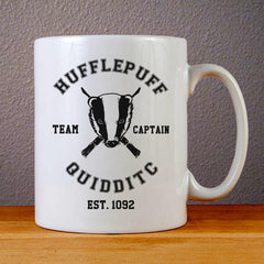 Harry Potter Hufflepuff Quidditch Ceramic Coffee Mugs