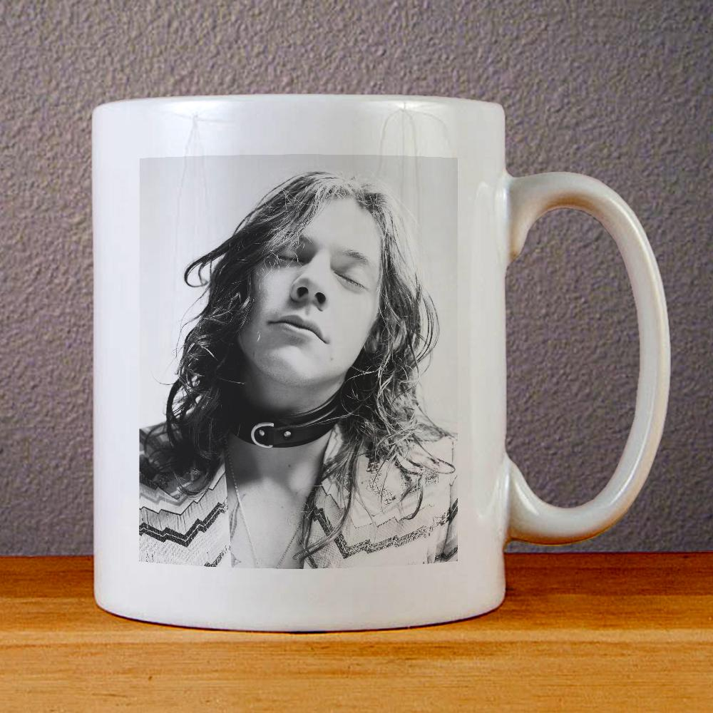 Harry Styles Another Man Long Hair Ceramic Coffee Mugs