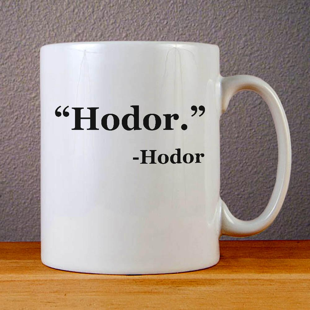 Hodor Game of Thrones Ceramic Coffee Mugs