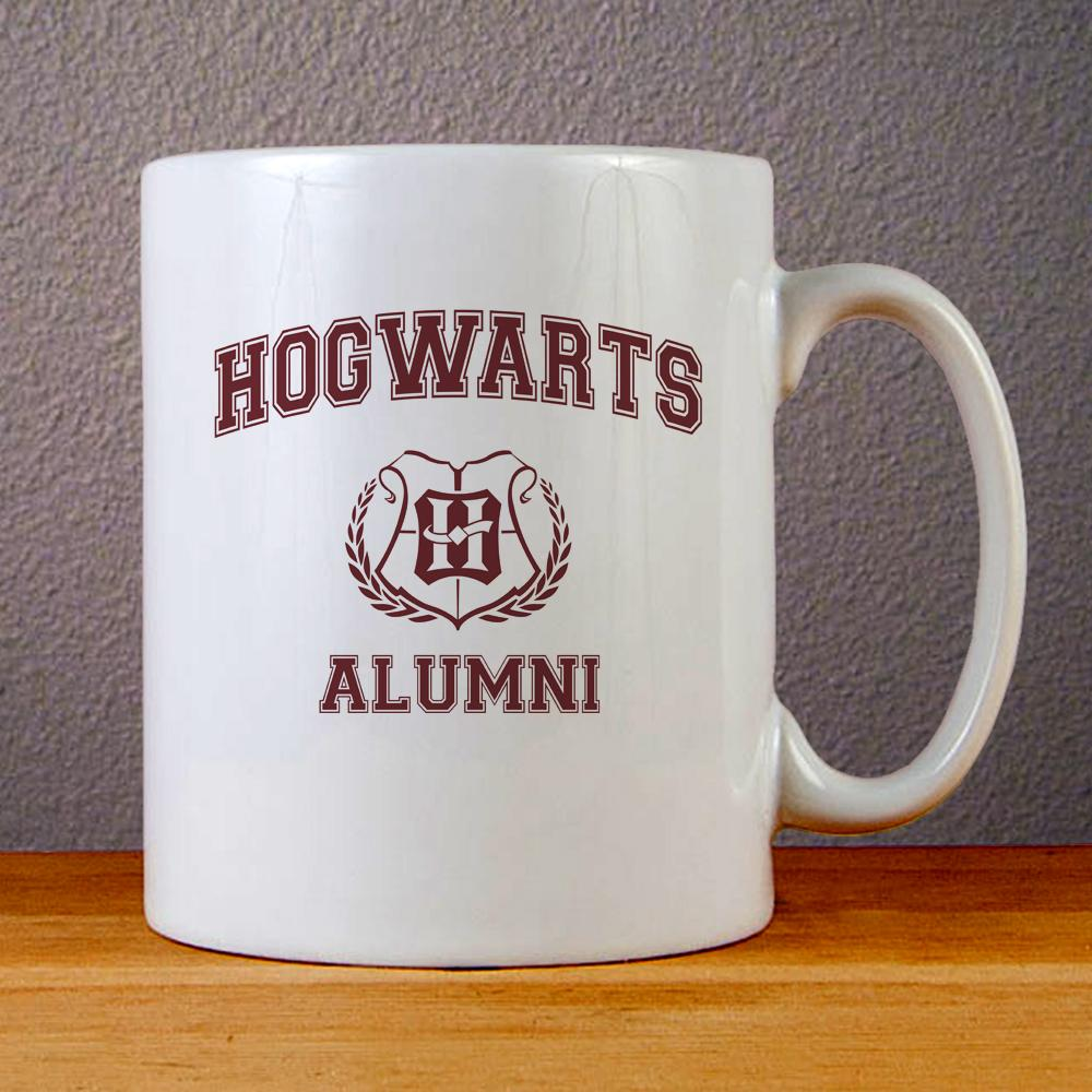 Hogwarts Alumni Logo Ceramic Coffee Mugs