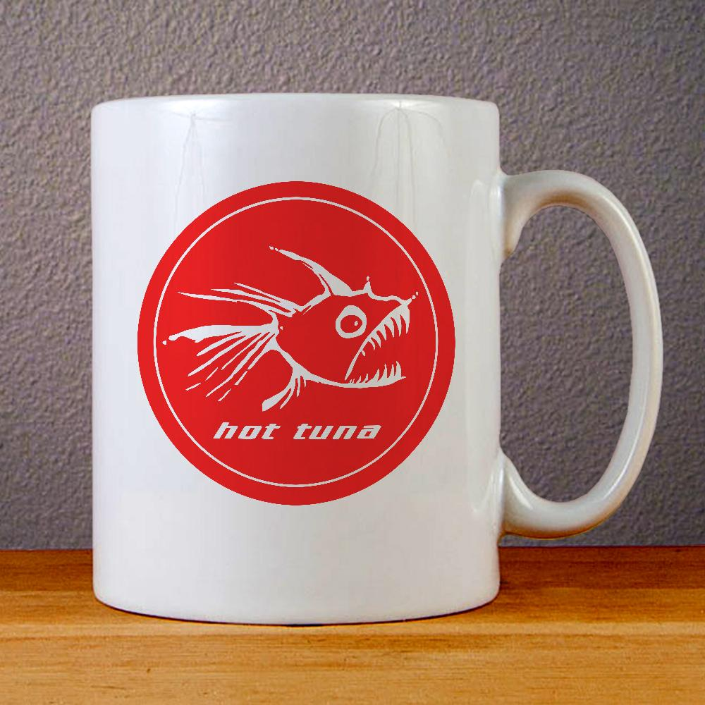 Hot Tuna Logo Ceramic Coffee Mugs