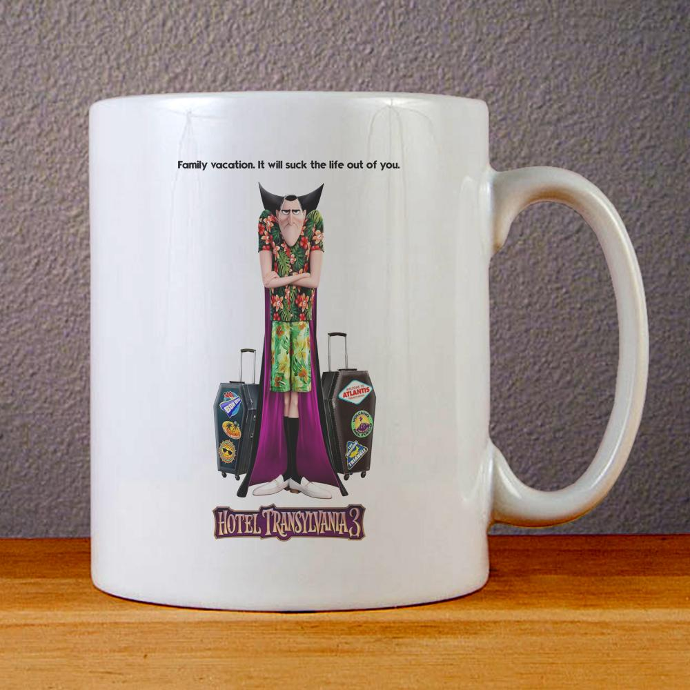 Hotel Transylvania 3 Poster Ceramic Coffee Mugs