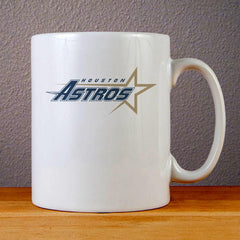 Houston Astros Team Logo Ceramic Coffee Mugs
