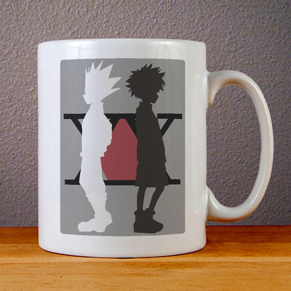 Hunter X Hunter Character Killua Gon Anime Ceramic Coffee Mugs
