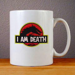 I Am Death Ceramic Coffee Mugs