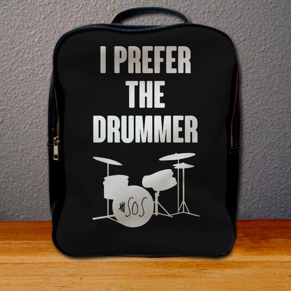 I Prefer The Drummer Ashton Irwin Backpack for Student