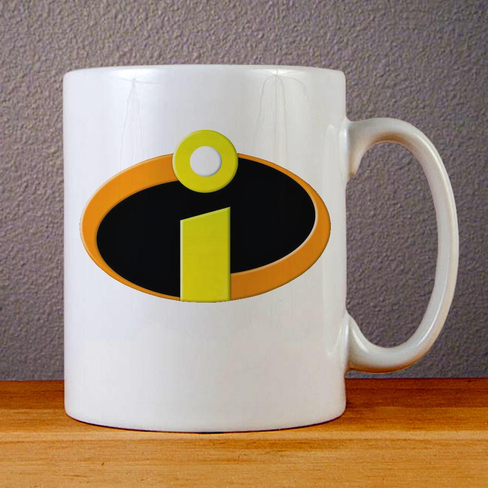 Incredibles Logo Superhero Ceramic Coffee Mugs