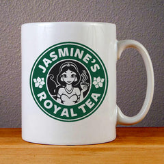 Jasmines Royal Tea Ceramic Coffee Mugs