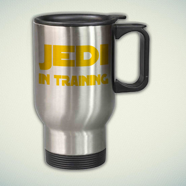 Jedi in Training Cool Star Wars 14oz Stainless Steel Travel Mug